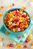Multi Colored Jelly Bean Candy Royalty Free Stock Photos