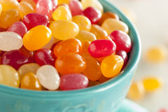 Multi Colored Jelly Bean Candy Stock Photography