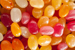 Multi Colored Jelly Bean Candy Stock Images