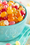 Multi Colored Jelly Bean Candy Royalty Free Stock Photography