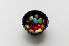 Multi-colored jelly beans Stock Photo