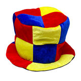 Multi-colored jester hat Royalty Free Stock Image