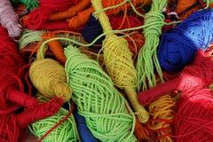 Multi-colored kabels royalty-vrije stock fotografie