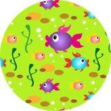 multi-colored kleine vissen Royalty-vrije Stock Afbeeldingen