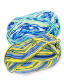 Multi Colored Knitting Yarn Royalty Free Stock Images