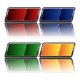Multi-colored knopen Royalty-vrije Stock Foto's