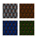 Multi-colored leather trim Royalty Free Stock Images