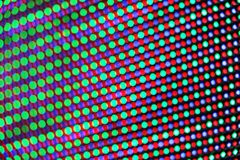 Multi colored LED lights pattern royalty free stock image