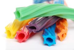Multi colored licorice Royalty Free Stock Photos