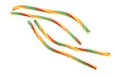 Multi colored licorice Stock Image