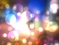 Multi Colored Light Burst Royalty Free Stock Images
