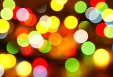 Multi-colored lights Stock Photo