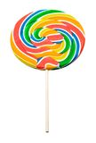 Multi colored lollipop Stock Photo
