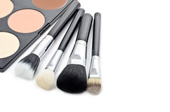 Multi colored make-up set Royalty Free Stock Photography