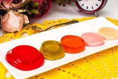 Multi Colored Marmalade Stock Photo
