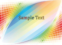 Multi-colored  mosaic Stock Images