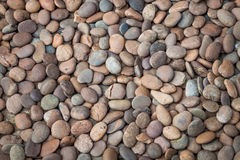 Multi colored of nature rock pebble Royalty Free Stock Photo