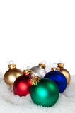 Multi colored ornaments Stock Image