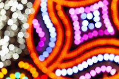 Multi colored out of focus background. Abstract backdrop Royalty Free Stock Image