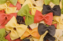 Multi-colored pasta Royalty Free Stock Photography