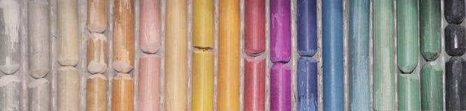 Multi-colored pastelkleur Het kleurenpalet Royalty-vrije Stock Afbeelding