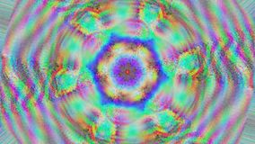 Multi-colored pattern light transformations shimmering background.