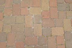 Multi Colored Pavers Stock Images