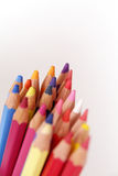 Multi Colored. Pencil Case Royalty Free Stock Photos