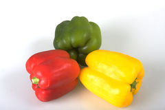 Multi-colored peppers Royalty Free Stock Photo