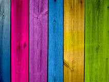 Multi-Colored Planks Background Royalty Free Stock Images