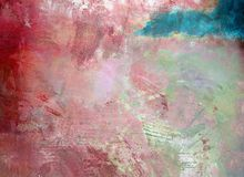 Multi-Colored Plaster. Texture of multi-colored plaster wall stock image