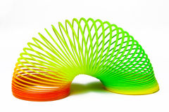 Multi Colored Plastic Ring Stock Images