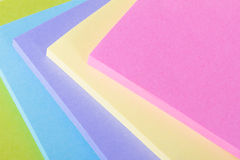 Multi Colored Post It Notes Royalty Free Stock Image
