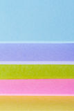 Multi Colored Post It Notes Stock Image