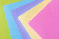 Multi Colored Post It Notes Royalty Free Stock Photos