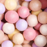 Multi-Colored Powder Pearls Stock Photography