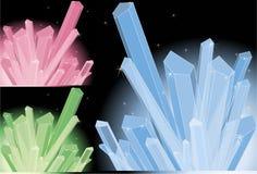 Multi-colored quartz Royalty Free Stock Photo