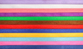 Multi colored ribbon Stock Photography