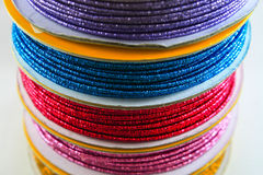 Multi-colored rope Royalty Free Stock Images