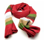 Multi-colored scarf Stock Photography
