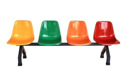 Multi-colored seat Royalty Free Stock Photo