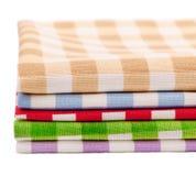 Multi-colored servettenhanddoeken Royalty-vrije Stock Foto