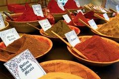 Multi-colored smakelijke kruiden Royalty-vrije Stock Foto's