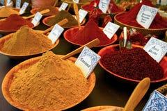 Multi-colored smakelijke kruiden Stock Afbeelding