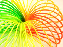 Multi-colored spiral. Close-up Stock Photos