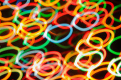 Multi-colored spots of light Royalty Free Stock Photos