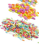 Multi Colored Sprinkles Stock Image