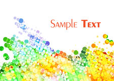 Multi-colored stain Stock Images