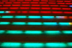 Multi Colored Steps Stock Image