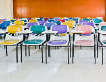 Multi-colored stoelen Royalty-vrije Stock Afbeelding